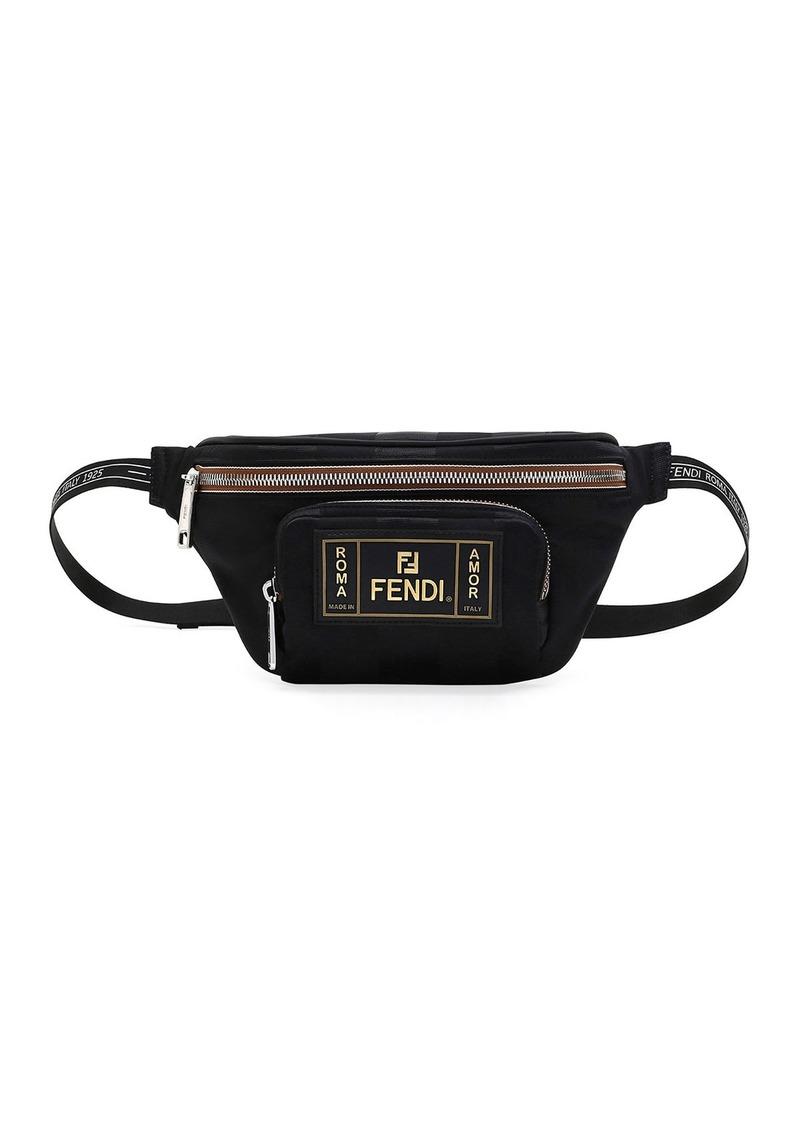 c78b3c1838 Men's Canvas Striped Belt Bag/Fanny Pack
