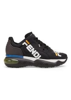 "Fendi Men's ""Fendi Mania"" Leather Sneakers"