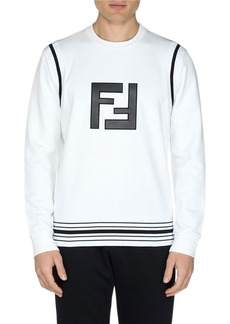 Fendi Men's FF Cotton-Blend Sweatshirt