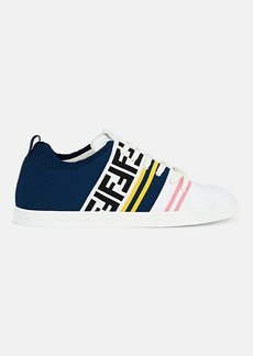 Fendi Men's Logo Knit Sneakers