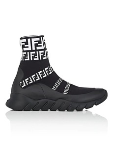 Fendi Men's Logo Sock Sneakers
