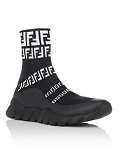 Fendi Men's Logo Sock Sneakers