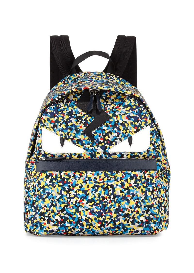 5f1507bb2534 Fendi Fendi Men s Multicolor Confetti-Print Backpack
