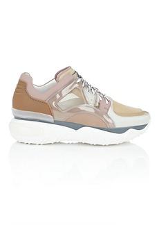 Fendi Men's Men's Nylon & Leather Sneakers