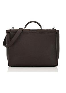 Fendi Men's Peekaboo Selleria Leather Briefcase