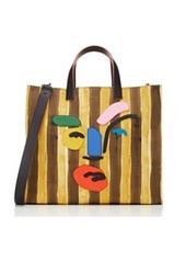Fendi Men's Picasso-Face Beach Tote Bag
