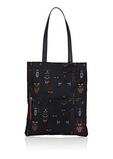 Fendi Men's Super Bugs Tote Bag - Blue