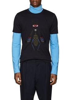 Fendi Men's Superbug Cotton T-Shirt