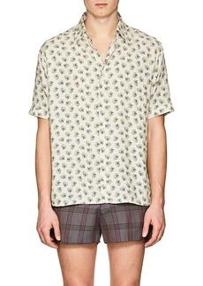 Fendi Men's Telephone-Print Shirt