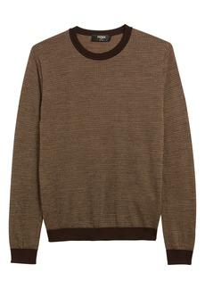 Fendi Micro FF Logo Wool Sweater