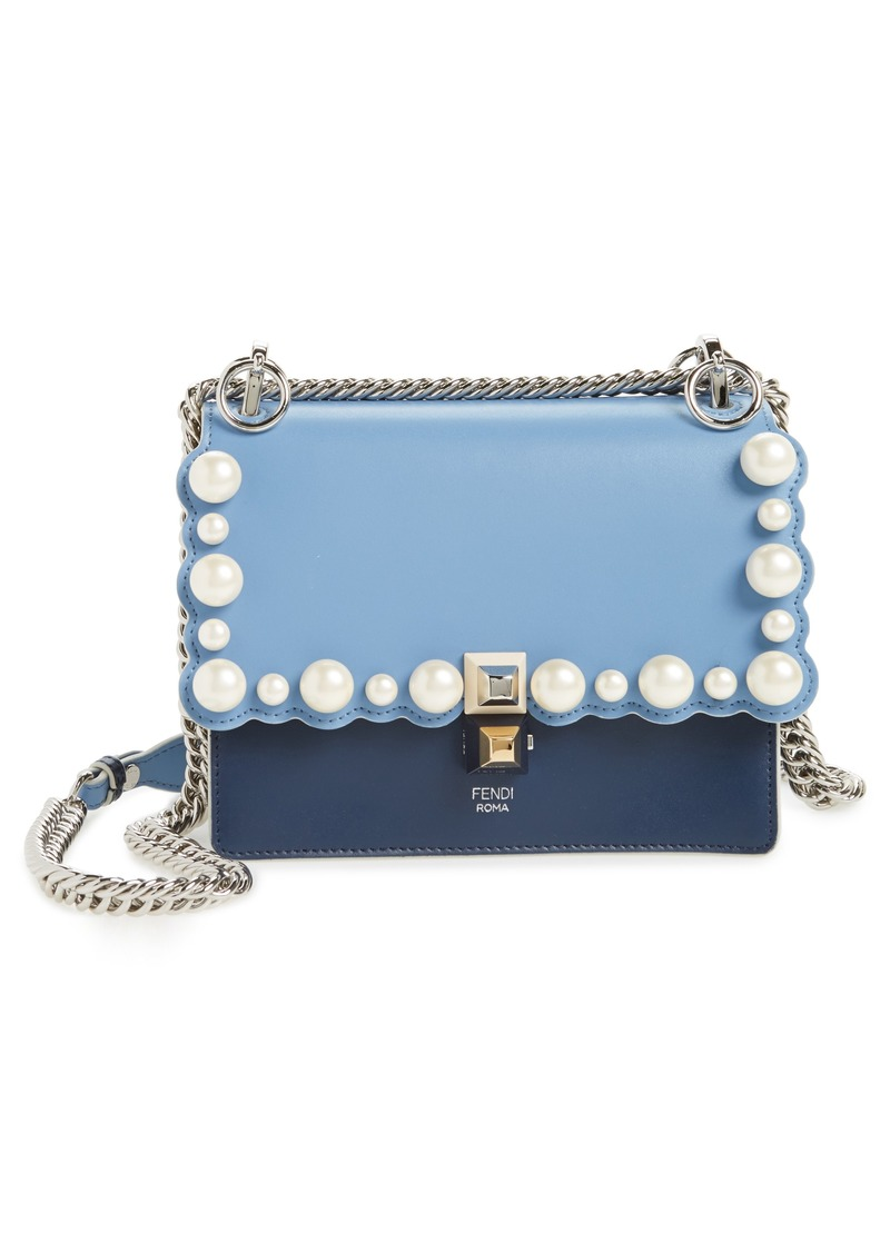 0b23ffc3f74c Fendi Fendi Mini Kan I Imitation Pearl Scallop Leather Shoulder Bag ...