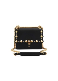 Fendi Mini Kan I Studs Shoulder Bag