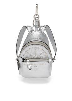 Fendi Mini Leather Backpack Charm