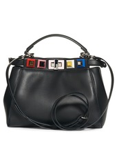 e2a99ea3c8 Fendi Mini Peekaboo Studded Leather Bag Fendi Mini Peekaboo Studded Leather  Bag
