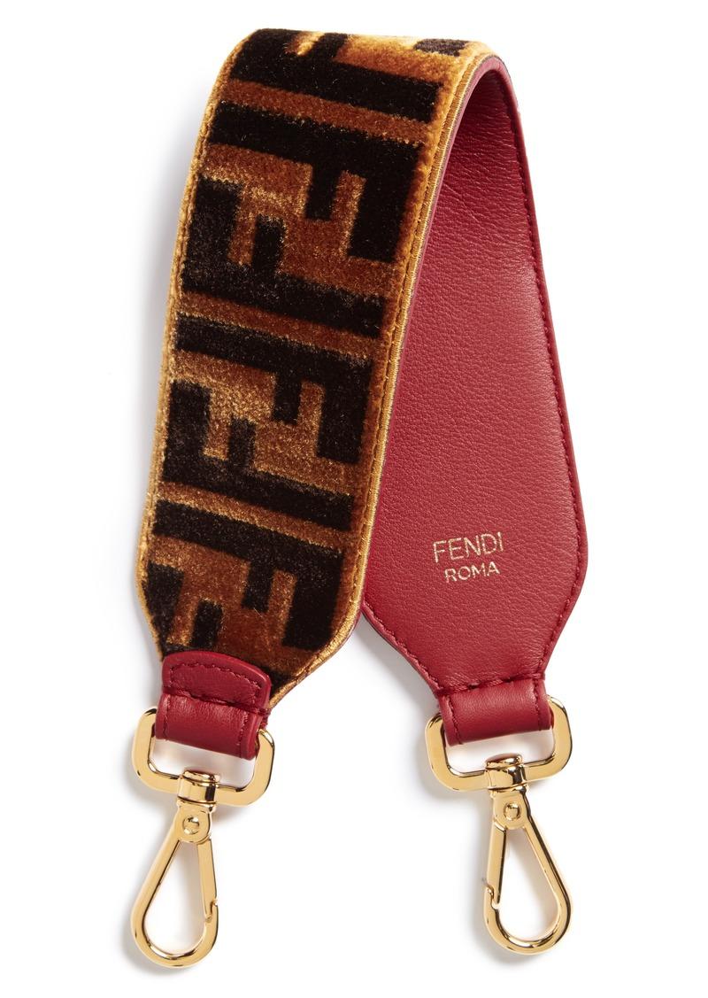 ab82d11a4357b Fendi Fendi Mini Strap You Fendi Logo Top Handle Strap
