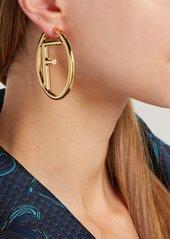 70e05d6cb Fendi Mismatches FF hoop earrings Fendi Mismatches FF hoop earrings ...