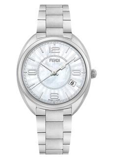 Fendi Momento Mother of Pearl Bracelet Watch, 34mm
