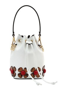Fendi Mon Tresor Calf Bucket Bag