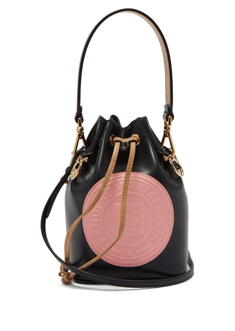 19051ca26810 Fendi Fendi Mon Tresor leather mini bucket bag