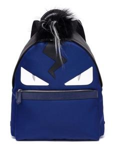 Monster Fox, Kidassia & Leather Backpack