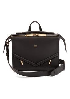 Fendi Monster mini leather messenger bag