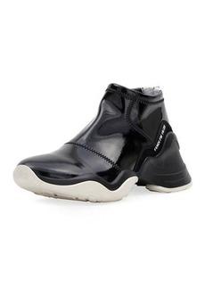 Fendi Neoprene Two-Tone Sneakers