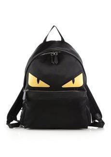 Fendi Nylon Monster Backpack