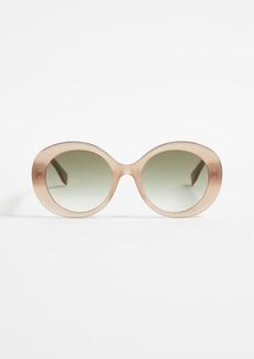 Fendi Oval Frame Sunglasses