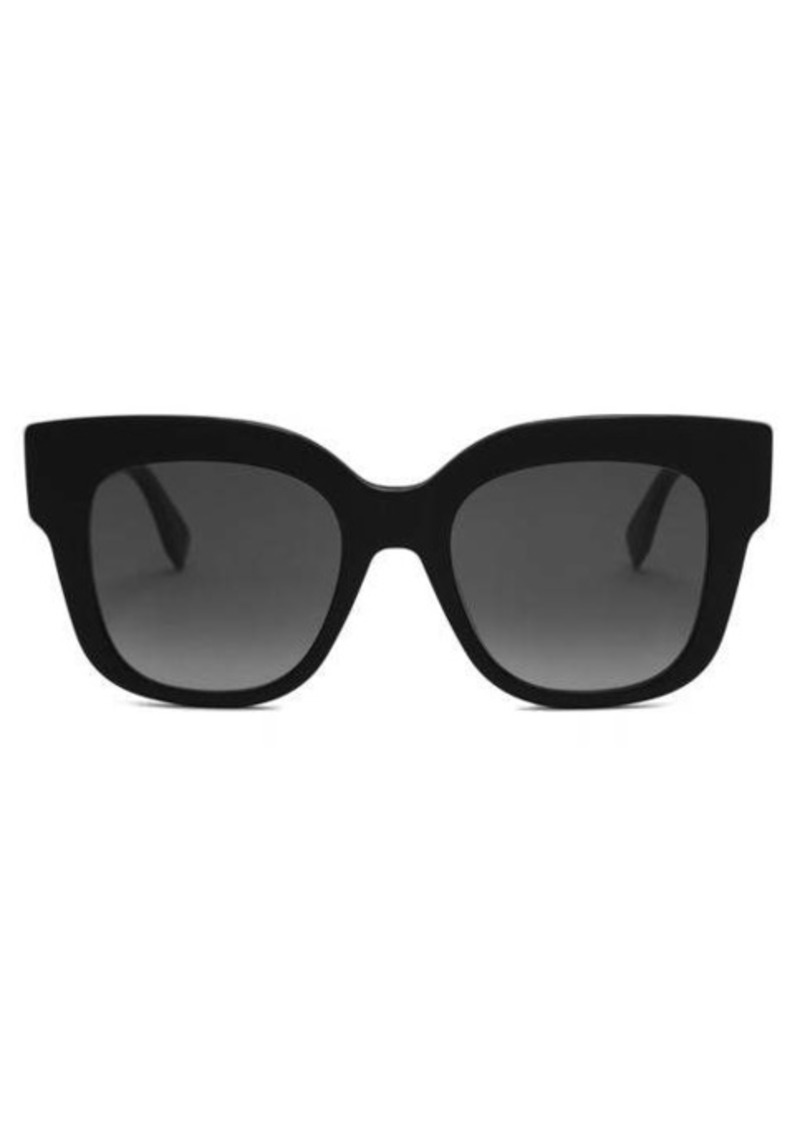 Fendi Oversized cat-eye acetate sunglasses