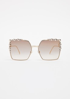 Fendi Oversized Square Sunglasses