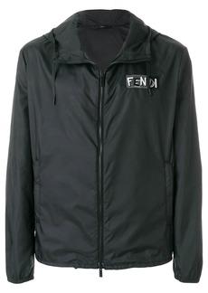 Fendi patch embellished jacket