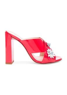 Fendi Patent Leather Crisscross Heels