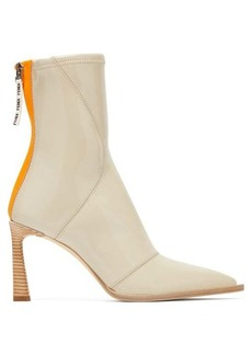 Fendi Patent-neoprene ankle boots