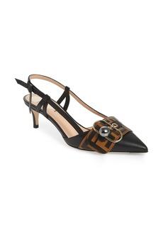 Fendi Pearland Slingback Sandal (Women)