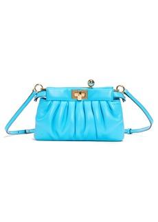 Fendi Peekaboo Click Leather Pochette Bag