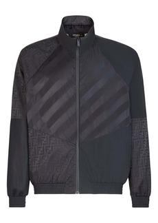 Fendi Pequin+FF Nylon Track Jacket