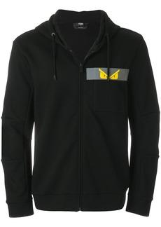 Fendi printed Bug zipped jacket - Black