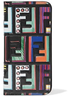 Fendi Printed patent-leather iPhone 6 and 7 case