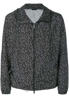 Fendi printed windbreaker jacket