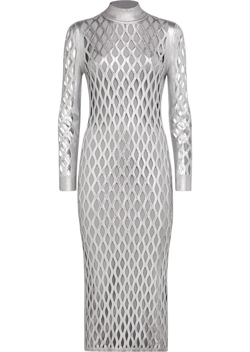 Fendi Prints On longuette dress