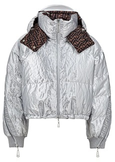 Fendi Prints On reversible padded jacket
