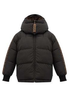 Fendi Reversible FF-logo technical puffer jacket