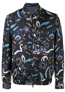 Fendi reversible floral print jacket