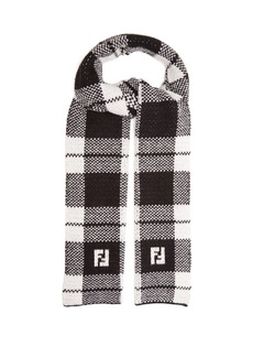 Fendi Reversible wool scarf