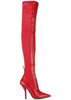 Fendi Rockoko over the knee boots
