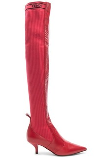Fendi Rockoko Thigh High Boots