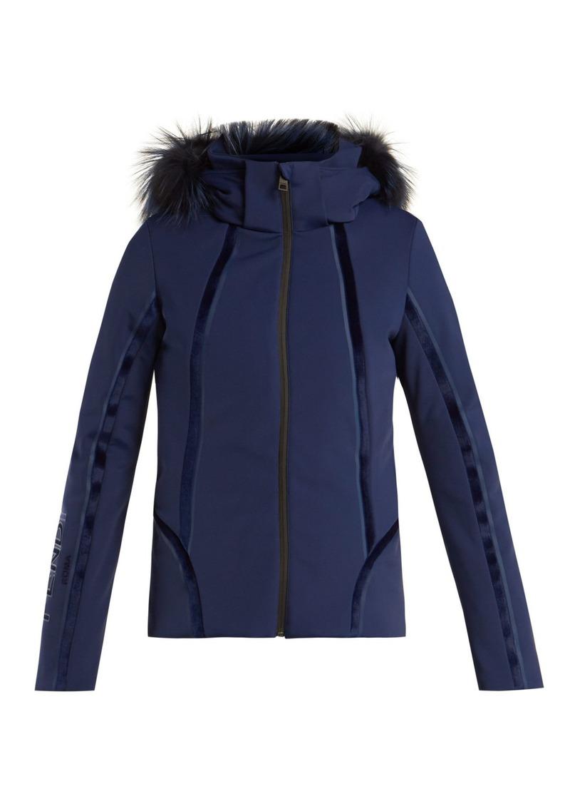 9ea22c3f Roma logo-embroidered ski jacket