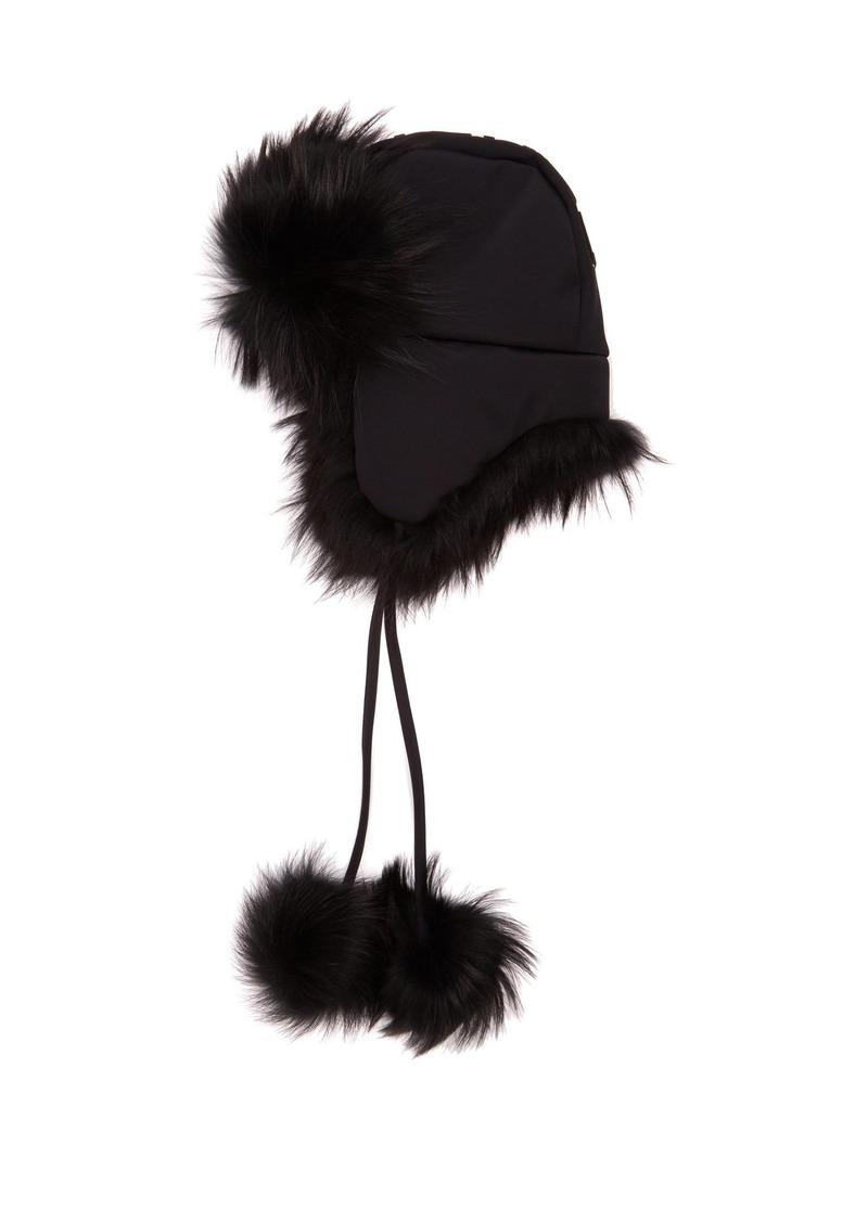 09ec1d00794 Fendi Fendi Roma-logo hat