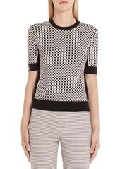 Fendi Romantic Tile Pattern Sweater