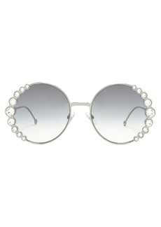Fendi Round embellished sunglasses